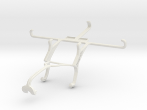 Controller mount for Xbox 360 & Sony Xperia Z3 in White Natural Versatile Plastic