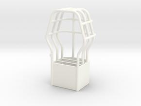 Roll Cage Custom Design 1/16th scale in White Processed Versatile Plastic