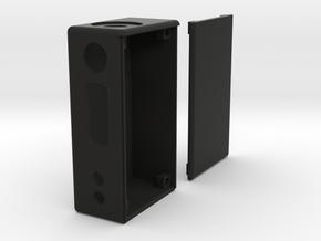 Box Mod Complete With Door in Black Natural Versatile Plastic