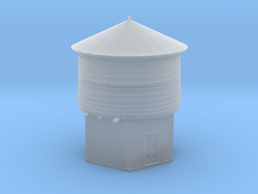 HO Scale PEIR 25K Gallon Water Tower  in Smooth Fine Detail Plastic