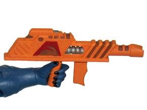 MOTUC 200x Arachna Blaster in Orange Processed Versatile Plastic