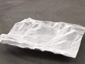 6'' Mt. Washington, NH, USA in White Natural Versatile Plastic