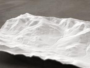 8'' Mt. Washington, NH, USA in White Natural Versatile Plastic