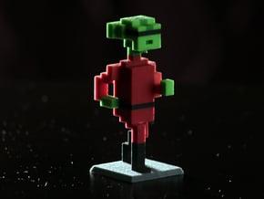 Alien Intruder Unmasked! in Full Color Sandstone