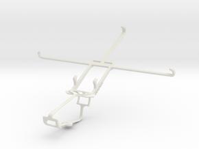 Controller mount for Xbox One & Alcatel Hero 8 in White Natural Versatile Plastic
