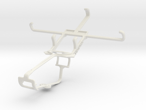 Controller mount for Xbox One & Lava Iris X1 in White Natural Versatile Plastic