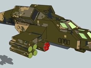 6mm VTOL Gunship (x3) in Smooth Fine Detail Plastic