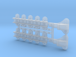 GWR ATC Ramp Brackets in Smooth Fine Detail Plastic