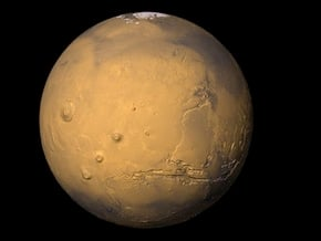 5cm Color Mars Surface Globe in Full Color Sandstone