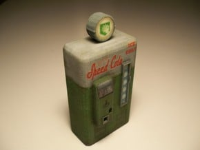 Speed Cola - Nazi Zombies Miniature Perk Machines in Full Color Sandstone