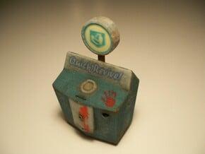 Quick Revive - Nazi Zombies Miniature Perk in Full Color Sandstone
