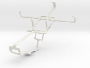Controller mount for Xbox One & Lava Iris 250 in White Natural Versatile Plastic
