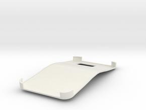 Galaxy S6 Bendgate case in White Natural Versatile Plastic