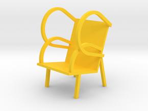 GLASSWING by RJW Elsinga 1:10 in Yellow Processed Versatile Plastic