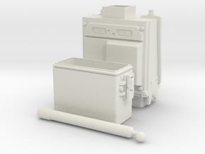 PRC-117G Body WSF DX 2-Part 1/6 in White Natural Versatile Plastic