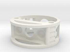 GCM111-04-01 - R.I.C.E.™ Port Style1 holder in White Natural Versatile Plastic