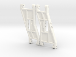 NIX91051 - B2 front arms, Classic look in White Processed Versatile Plastic