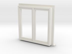 Window Type 4 - 4mm in White Natural Versatile Plastic