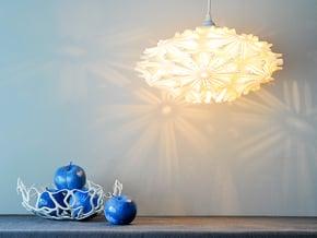Camilla Light  / Hanging Pendant Light in White Natural Versatile Plastic