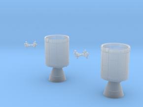 Apollo Service Modules, Block II 1/200 scale in Smooth Fine Detail Plastic