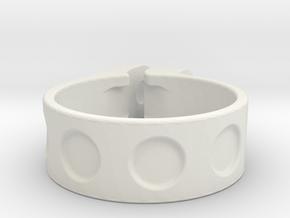 31,6 in White Natural Versatile Plastic