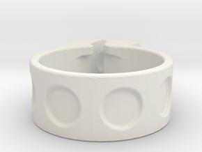 27,1 mm clamp in White Natural Versatile Plastic