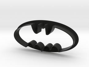 Batman Cookie Cutter in Black Natural Versatile Plastic