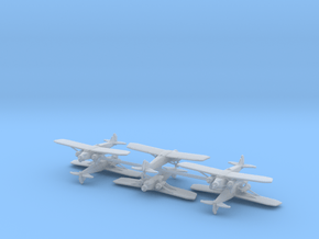 Caproni Ca.133 (6 Airplanes) 1/700 in Smooth Fine Detail Plastic