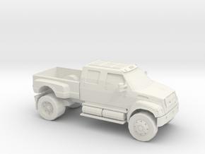 1/87 2000-13 Ford F650 in White Natural Versatile Plastic