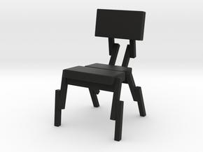 SPARTAN! design RJW Elsinga in Black Natural Versatile Plastic