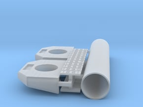 PEIR Concrete Single Culverts- O Scale- Assy For P in Smooth Fine Detail Plastic