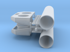 PEIR O Scale Concrete Double Culverts in Smooth Fine Detail Plastic