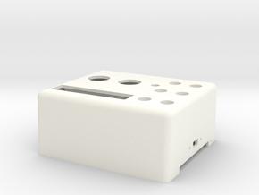 ROTS Belt Box - Left Box in White Processed Versatile Plastic