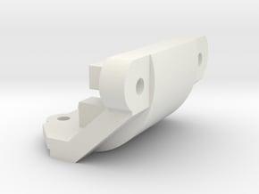 Losi Micro 1/24 Bumper Delete in White Natural Versatile Plastic