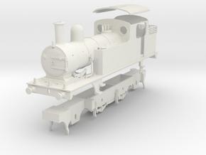 LNER class F4 2.4.2 tank locomotive kit in White Natural Versatile Plastic