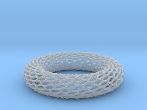 Border Object - Twisted Torus 0 1 in Smoothest Fine Detail Plastic