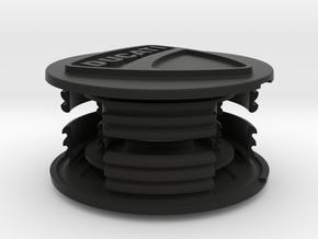 Rahmenstopfen Multistrada 1200 in Black Natural Versatile Plastic