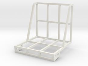 Carcassonne Stack in White Natural Versatile Plastic