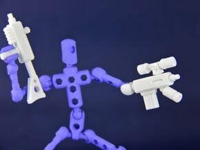 ReCon System DIY Firearm Kit for ModiBot in White Natural Versatile Plastic