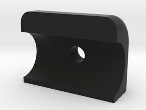 Front Boom Clamp in Black Natural Versatile Plastic