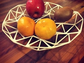 AltoCloud Bowl Medium in White Natural Versatile Plastic