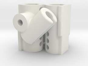 ZMR-250-FrskyD4RII Pieces in White Natural Versatile Plastic