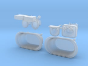 Bath Fixtures For SHAPEWAYS 3 in Smooth Fine Detail Plastic