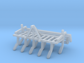 1:160/N-Scale Cultivator with roller in Smooth Fine Detail Plastic