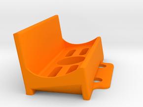 GoPro holder for ZMR250 in Orange Processed Versatile Plastic
