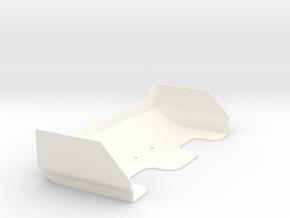 B5m Batwing Light in White Processed Versatile Plastic