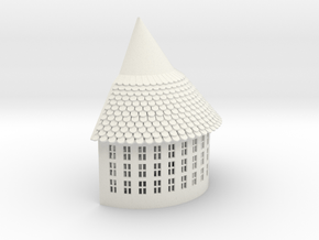 Tower Sample  1 in White Natural Versatile Plastic