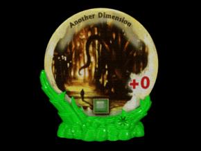 Arkham horror gate stand in Green Processed Versatile Plastic