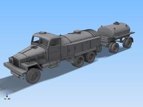 LKW IFA G5 Tankzug (militär.Var.) Spur TT 1:120 in Smooth Fine Detail Plastic