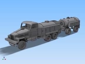LKW IFA G5 Tankzug (zivi Var.) TT 1:120 in Smooth Fine Detail Plastic
